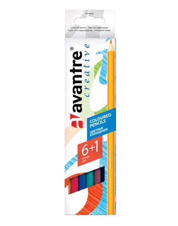 Купить Avantre Creative Цветные карандаши, 6 цветов +1