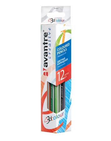 Купить Avantre Creative Цветные карандаши, трехгр., 12 штук