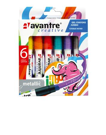 Купить Avantre Creative Гелевые мелки, металлик, 6 цветов