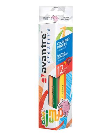 Купить Avantre Creative Цветные карандаши, трехгр. jumbo, 12 шт.