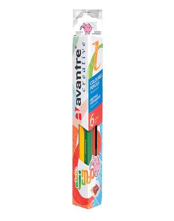 Купить Avantre Creative Цветные карандаши, трехгр. jumbo, 6 шт.