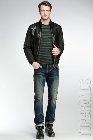 Купить Куртка с кожаной отделкой DKNY BLE102781